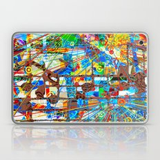 ブラックホワイト (Goldberg Variations #8) Laptop & iPad Skin