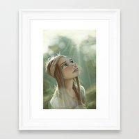 Morning Sunlight Framed Art Print