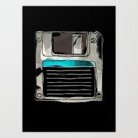 The futur  Art Print