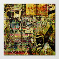 PIECESDETACHEES Canvas Print