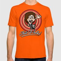 That's Al Folks! (Classi… Mens Fitted Tee Orange SMALL