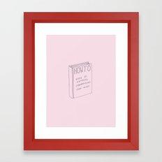 How To Framed Art Print