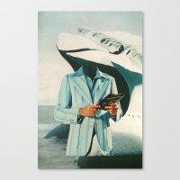Crisp, Cool Sophisticati… Canvas Print