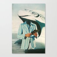 crisp, cool sophistication Canvas Print