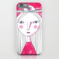 Hat Girl iPhone 6 Slim Case