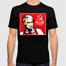 KGB FLAVOR Mens Fitted Tee Black SMALL