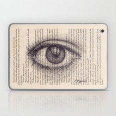 Eye in a Book Laptop & iPad Skin