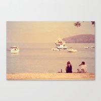 Sea & Love Canvas Print