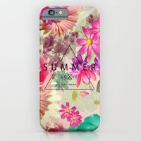 iPhone Cases featuring SUMMER LOVE by Nika