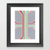 Pop Cross Framed Art Print