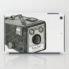 Kodak Box Brownie Camera Illustration iPad Case