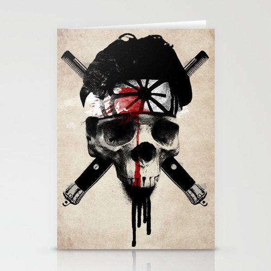 Death to LaRusso Stationery Card