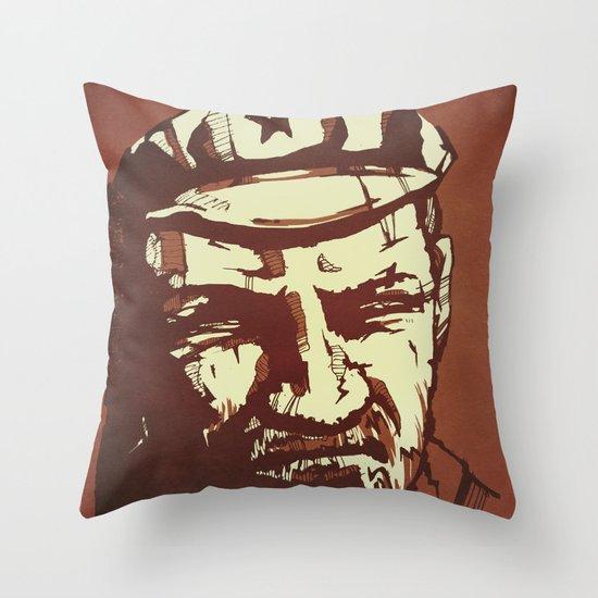 Vladimir Ilyich Lenin Throw Pillow