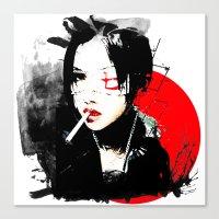 Shiina Ringo - Japanese … Canvas Print