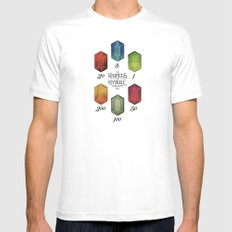 Legend of Zelda - Tingle's The Rupees of Hyrule Kingdom SMALL Mens Fitted Tee White