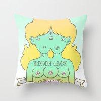 tough luck Throw Pillow
