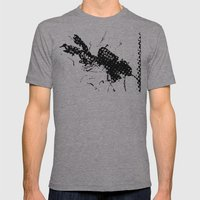 Divers Dive Mens Fitted Tee Athletic Grey SMALL