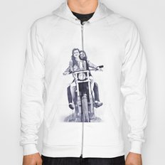 Biker Babes Hoody
