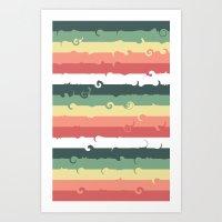 Candy Roll Art Print