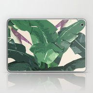 Banana Leaf Pattern Laptop & iPad Skin