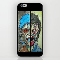 Two Half Zombie iPhone & iPod Skin