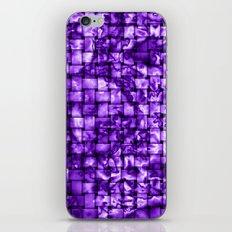 Purple Satin Weave Effect iPhone & iPod Skin