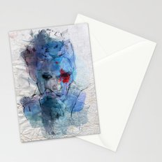 blue lover Stationery Cards