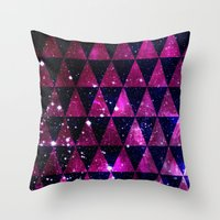 Through Space Throw Pillow