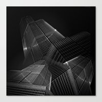 the black building theory - part one Canvas Print