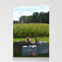 Luggage Stationery Cards