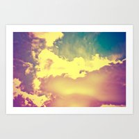 Sky's The Limit Art Print