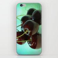 Black Cherries iPhone & iPod Skin