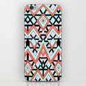Geometric Mountains iPhone & iPod Skin