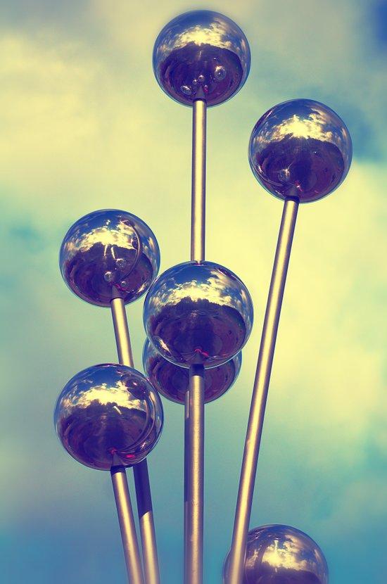 The world on balls Art Print