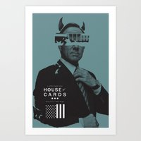 House Of Cards Series Po… Art Print