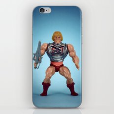 He-Man Battle Damage  iPhone & iPod Skin