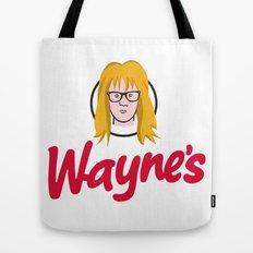 WAYNE'S SINGLE #2 Tote Bag