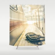 Dokkers II Shower Curtain