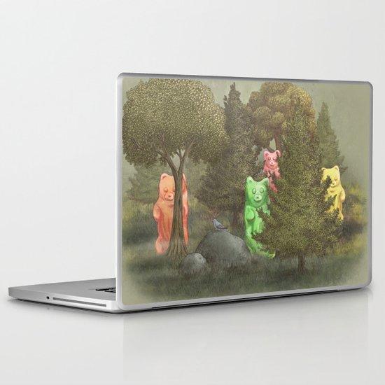 Wild Gummy Bears Laptop & iPad Skin