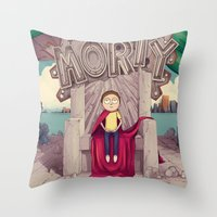 The GOOD Morty Throw Pillow