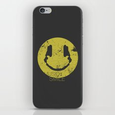 Music Smile iPhone & iPod Skin