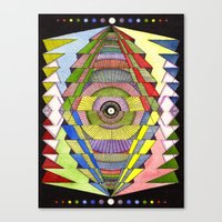The Singular Vision Canvas Print