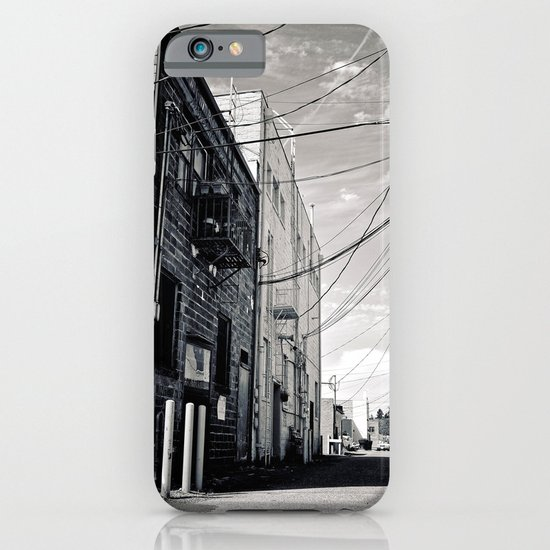 Grit city alley iPhone & iPod Case