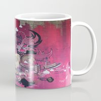 Dont Worry - Party Hard (Pink) Close Up Mug