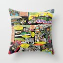 Vivita Spa KOMIX #1 Throw Pillow