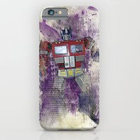 iPhone & iPod Case featuring G1 - Optimus Prime by DesignLawrence