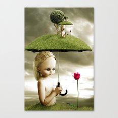 Eve's Umbrella Canvas Print