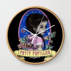 Ma Petite (color) Wall Clock