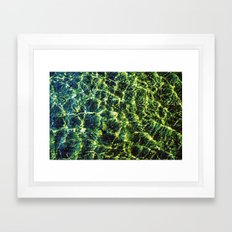 River Waters Framed Art Print
