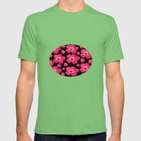 Hibiscus   Mens Fitted Tee Grass SMALL